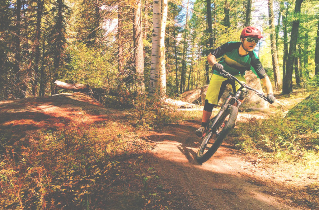 Mountain Bike at Buffalo Creek